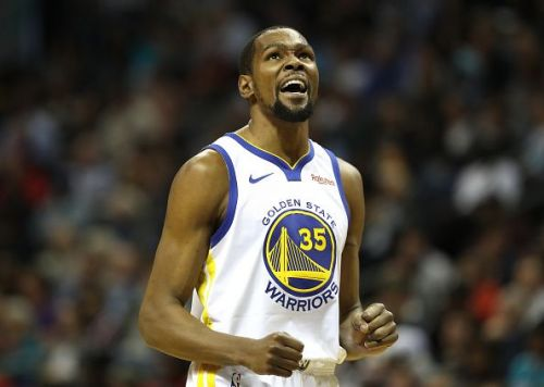 Kevin Durant has been out of action for the Golden State Warriors