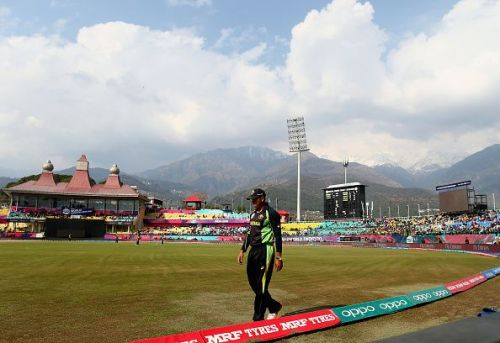 The stands are built at some height, making the view for the spectators breathtaking