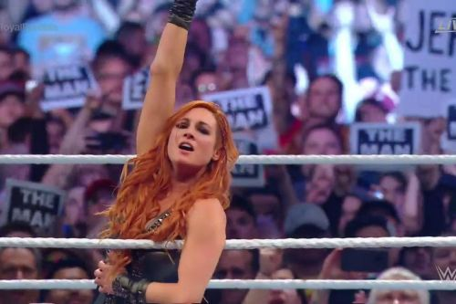 The Man made her fans proud at Royal Rumble