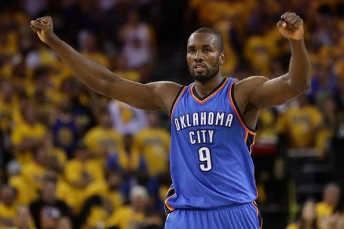 Serge Ibaka played a major role in the franchises early years