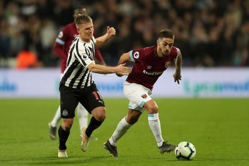 Lanzini played 90 minutes in GW29 against Newcastle after coming back from injury.