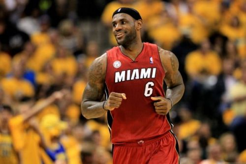 LeBron James represented Miami for four years