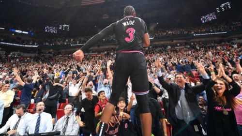 Wade ended the game with a shocking shot
