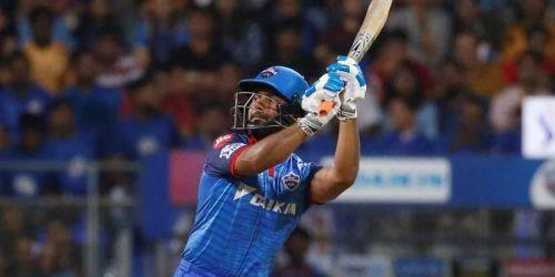 Rishabh Pant scored a blazing 78