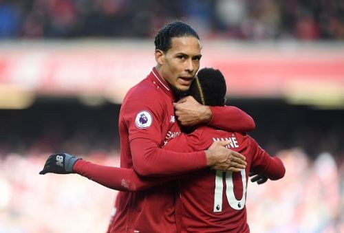 Van Dijk produced another spectacular performance