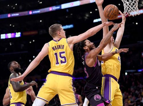 Wagner has yet to impress for the Los Angeles Lakers