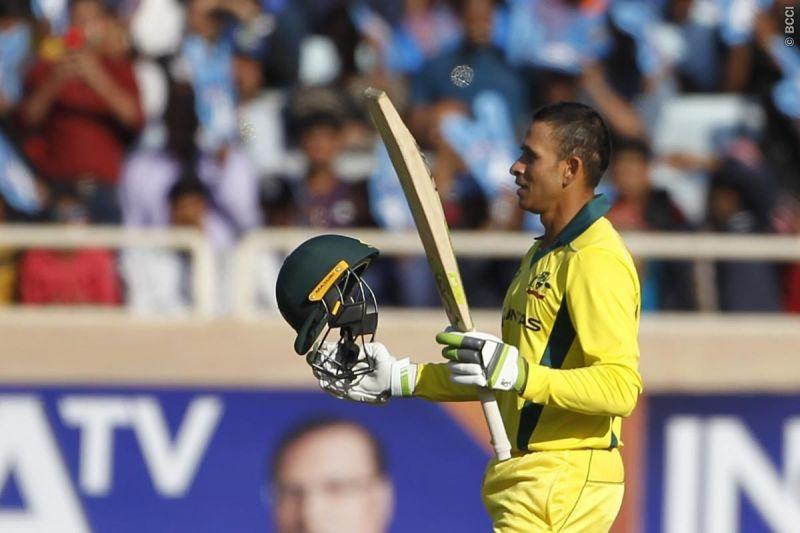 Khawaj hits century