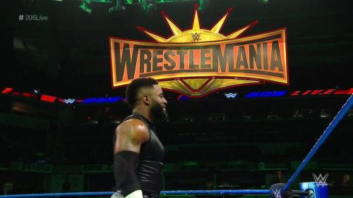 Cedric Alexander looked to repeat history tonight