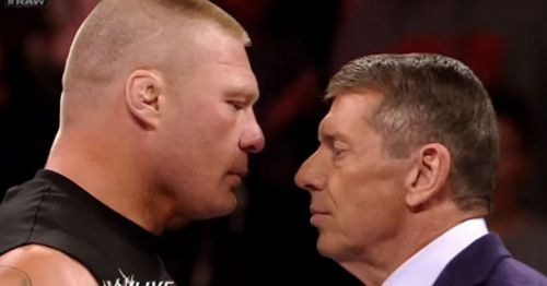 Lesnar is looking to play his cards right.