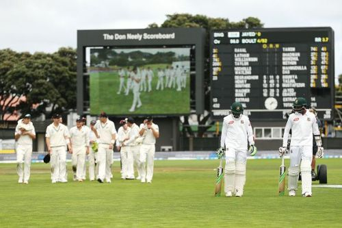 New Zealand v Bangladesh - 2nd Test: Day 5