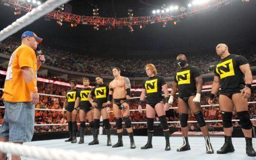 John Cena and The Nexus