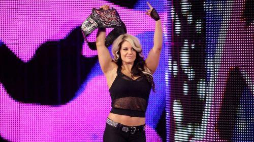 Kaitlyn is a former Divas Champion