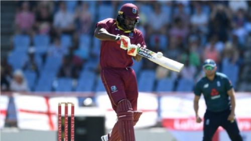 Gayle struck 39 sixes in the ODI series against England