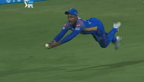 Sanju Samson's catch was one of the best in the season