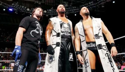 The Club in their first iteration with AJ Styles