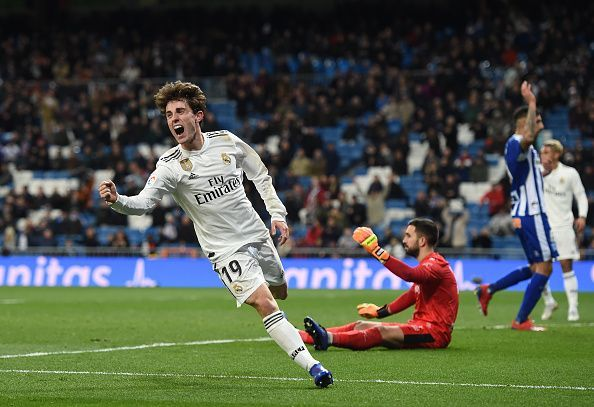Odriozola has been reliable for Real Madrid