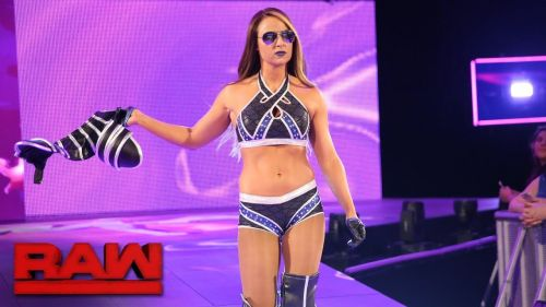 Emma was fired from WWE in 2014, but was re-hired just hours later.