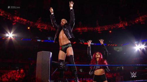 Mike and Maria Kanellis had one last chance to impress 205 Live GM Drake Maverick