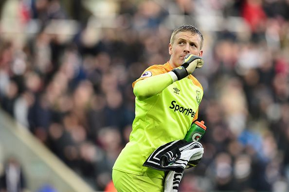 Despite some questions over his form, Jordan Pickford will likely be England