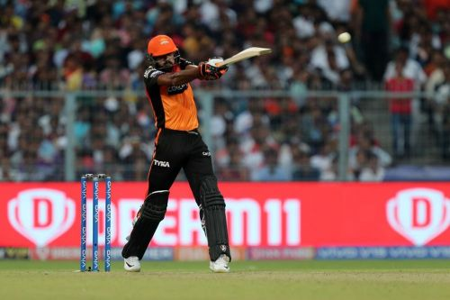 Vijay Shankar played a vital knock in SRH's last match. (Image Courtesy: IPLT20)