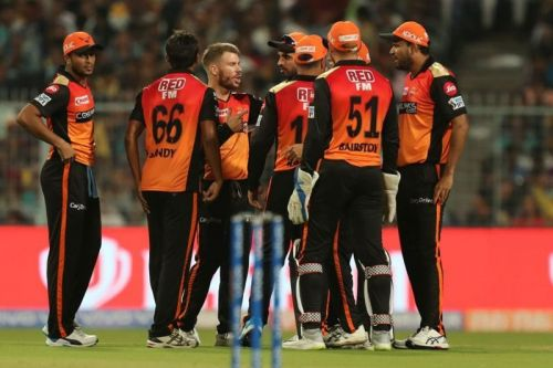 SRH lost their first match of the campaign against KKR.