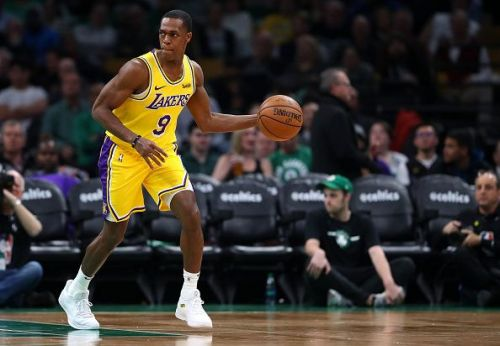 Rajon Rondo signed a one-year contract with the Los Angeles Lakers last summer