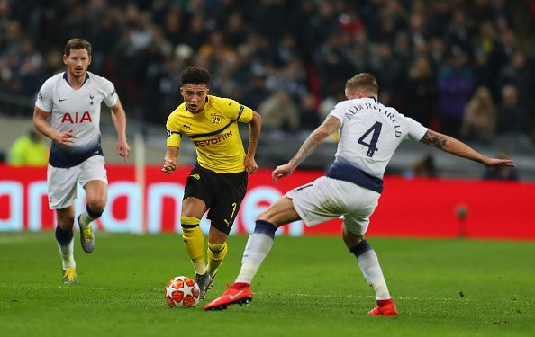 Jadon Sancho is a very good 1v1 player