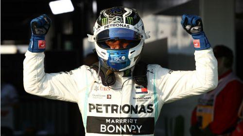 Mercedes' Valtteri Bottas.