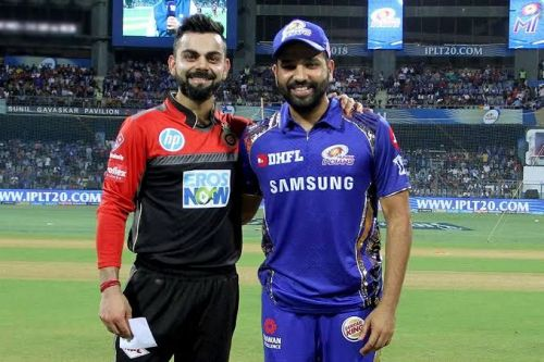 Royal Challengers Bangalore vs Mumbai Indians (Source - iplt20/BCCI)