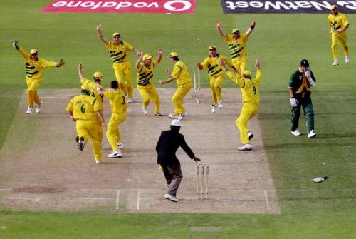 1999 World Cup Semifinal between Australia and South Africa ended in a Tie. Image Source: Wisden