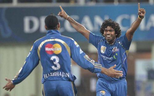 Harbhajan Singh & Lasith Malinga led Mumbai Indians to three IPL titles