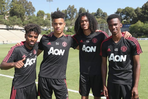 Angel Gomez, Mason Greenwood and Taith Chong have been given first-team opportunities since Ole