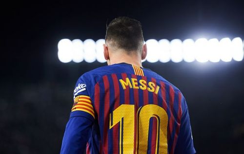 Lionel Messi continues to be the standard bearer for Barcelona