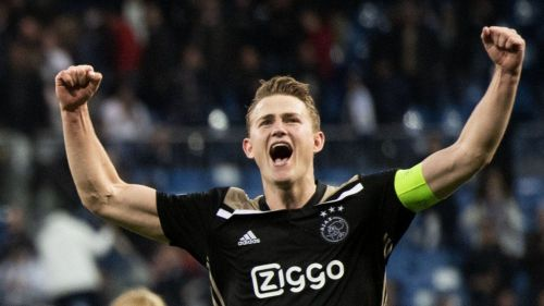 AFC Ajax's Matthijs de Ligt
