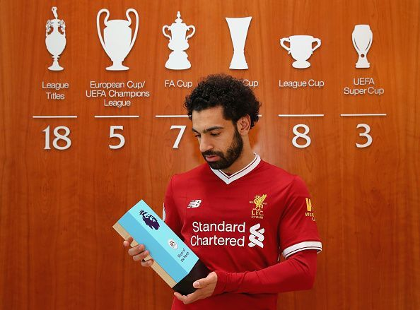 Liverpool talisman Mohamed Salah is the reigning Premier League Player Of The Year