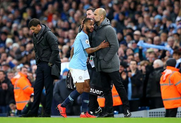 Sterling was deservedly applauded after his hat-trick and impressive display on this occasion