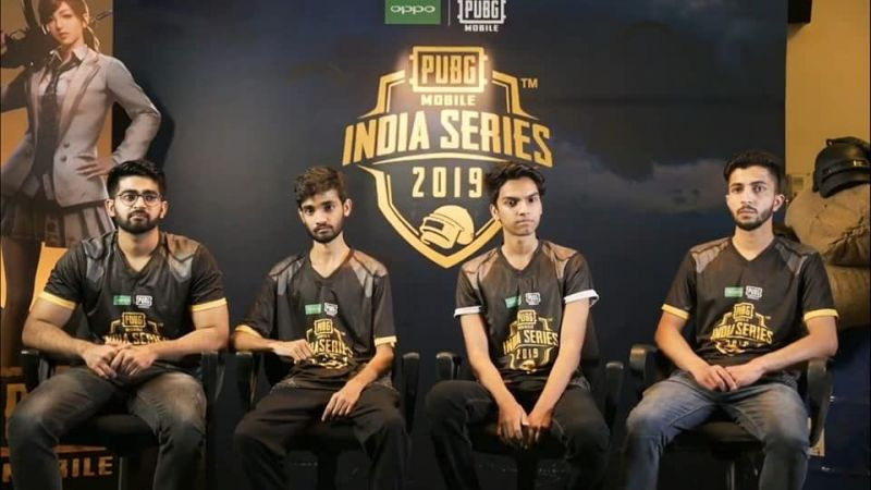 Pubg Mobile India Series Top 3 Team Funky Monkey Is