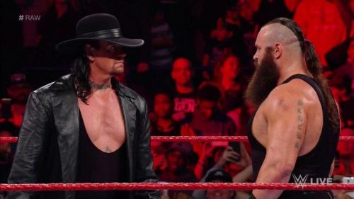Braun could gain a lot from a win over Taker