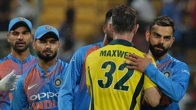 Maxwell was the real difference between India and Australia.
