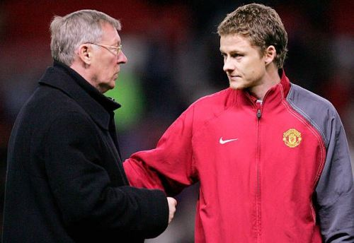Ole and his mentor