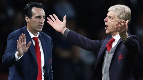 Emery has performed better than Wenger when Arsenal faced teams from the top-six