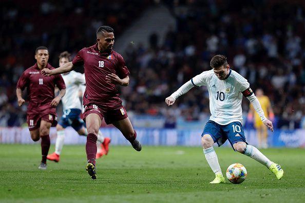 Lionel Messi failed to provide the spark against Venezuela