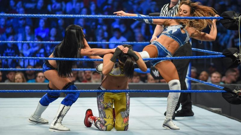 The IIconics beat the champs with ease and probably earned a title shot in the process