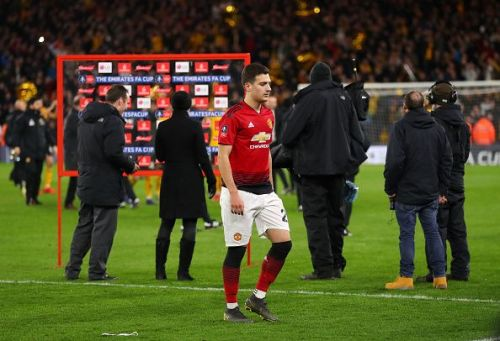 Dalot failed to grab the opportunity presented to him