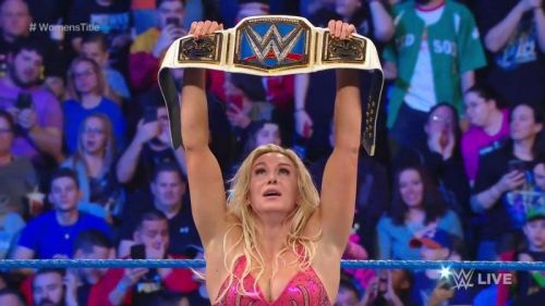 Charlotte Flair - the 8-time Women's Champion