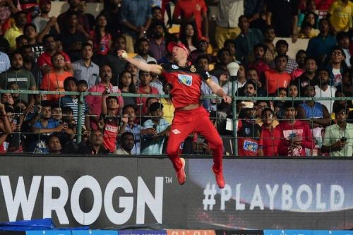 ABD's Physics defying catch dismissed Alex Hales in the 2018 encounter