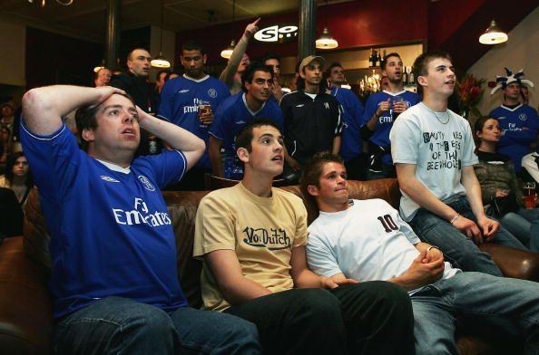 Chelsea fans stunned