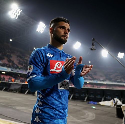 Napoli's Lorenzo Insigne is on the radar of Liverpool