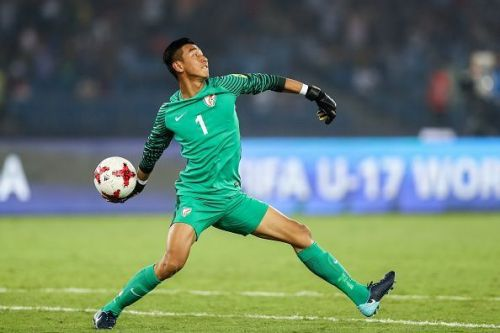 Dheeraj Singh Moirangthem will be India's first-choice 'keeper