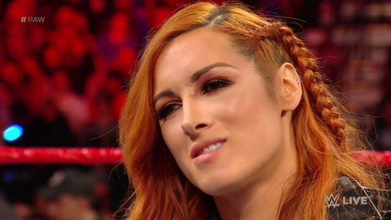 Why did Becky Lynch beat Ronda Rousey in the beat the clock challenge